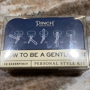 Pinch provisions how to be a gentleman personal